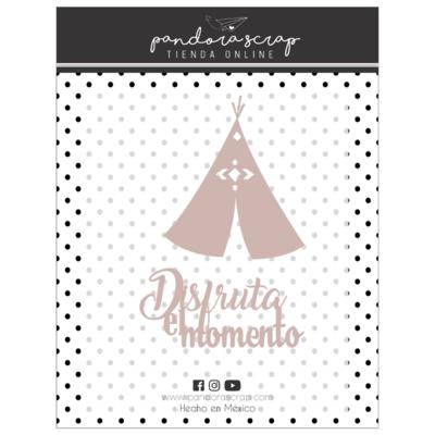 Set de Maderitas - Disfruta el Momento