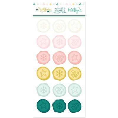 Stickers - Sellos de Lacre Muérdago