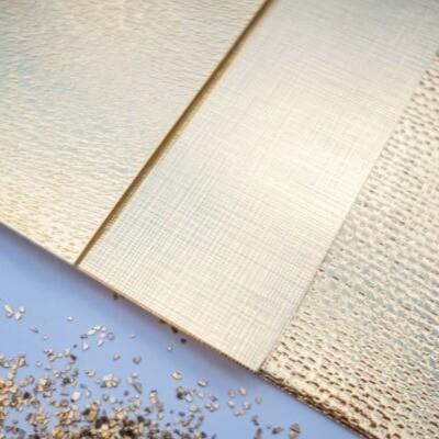 Cartulina Texturizada - Espejo Oro