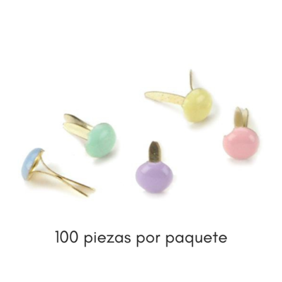 Set de Mini Brads - Pastel