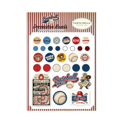 Brads Decorativos - Baseball
