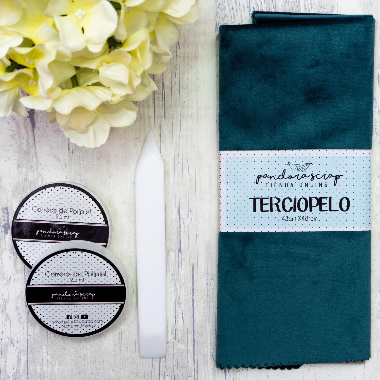 Terciopelo - Turquesa