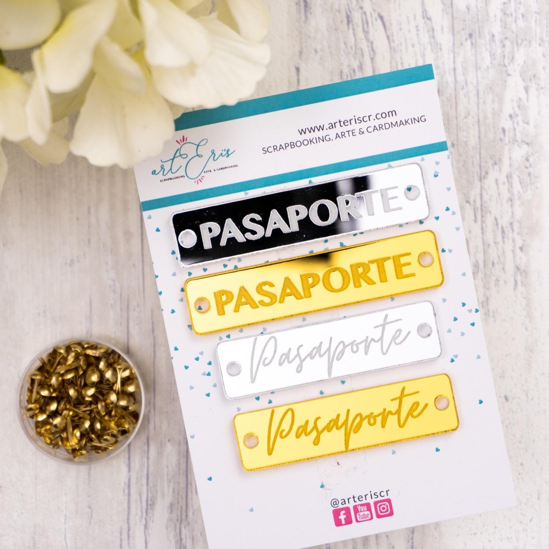 Placas Identificadoras - Pasaporte