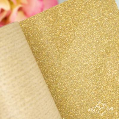 Rollo Vinilo Textil - Glitter Unicornio Dorado