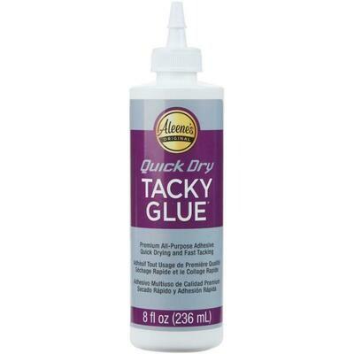 Quick Dry Tacky Glue - 8 oz