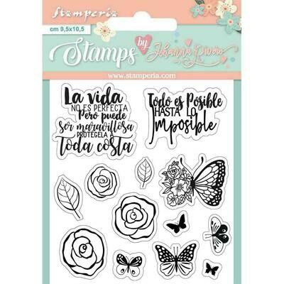 Set de Sellos - Butterflies
