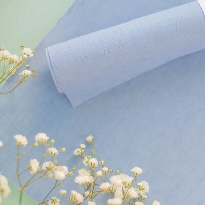 Tela de Encuadernar - Lino Azul