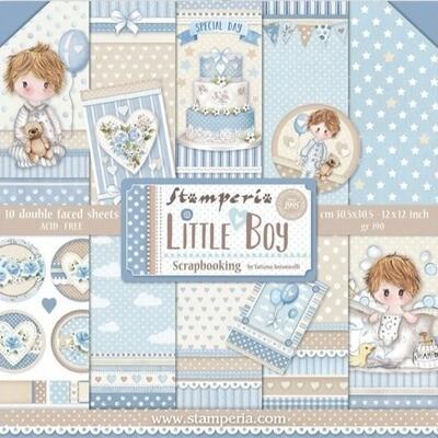 """Colección de Papeles 12""""x12"""" - Little Boy"""