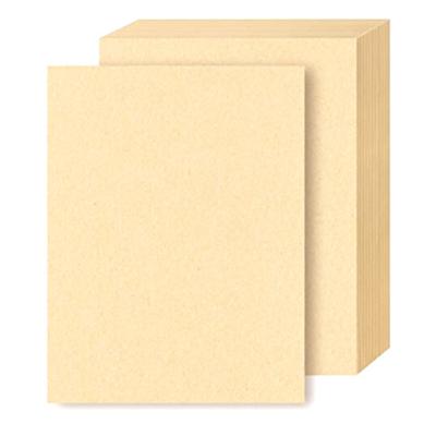 Cartoncillo Kraft Claro - Tamaño Carta 215 g/m2