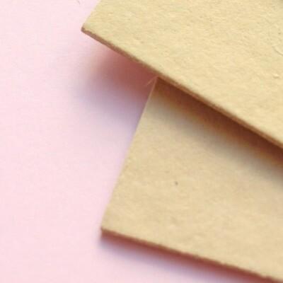 Cartón Contracolado - Amarillo Pastel 1.5mm
