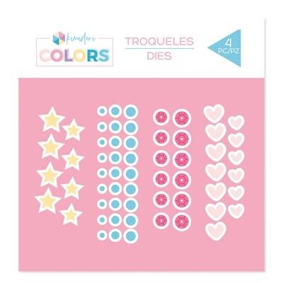 Set de Troqueles - Confetti Básicos