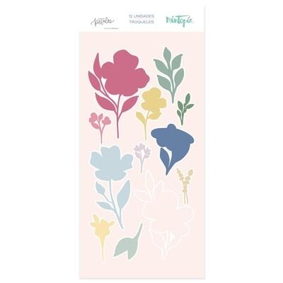 Set de Troqueles - Flores Grandes