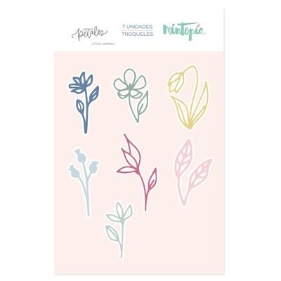 Set de Troqueles - Mini Flores