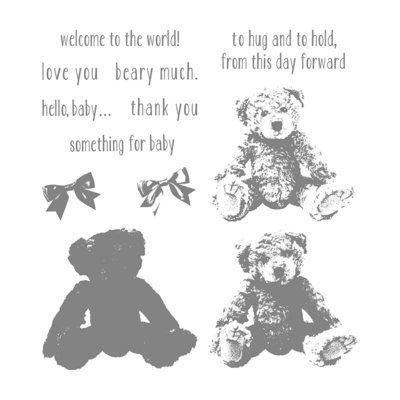 Set de Sellos - Baby Bear
