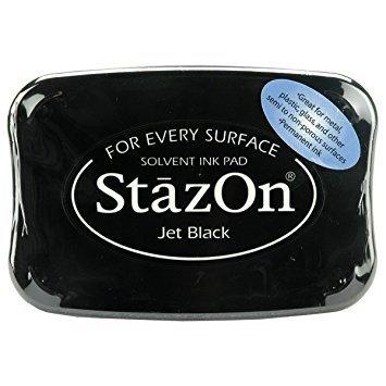 Jet Black - Stazon Ink Pad