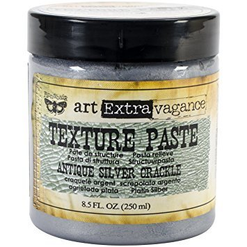 Texture Paste - Antique Silver Crackle