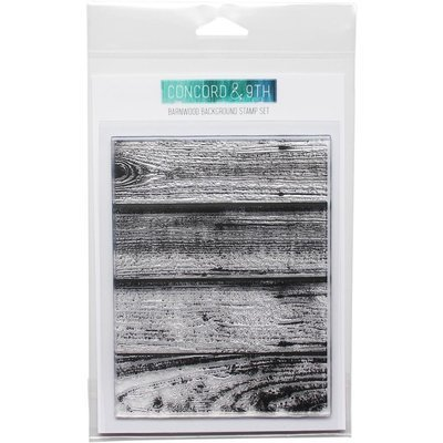 Background Stamp - Barnwood