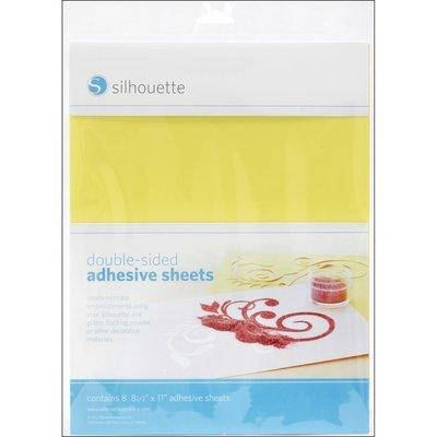Hojas Adhesivas Doble Cara - Silhouette