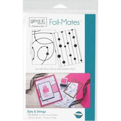 Foil Mates - Dots & Strings