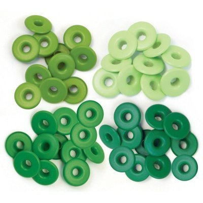 Wide Eyelets - Green