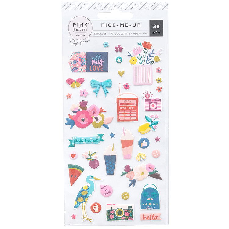 Puffy Stickers - Pick Me Up