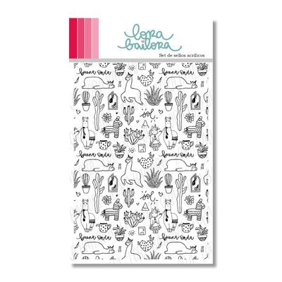 Background Stamp - Etnia