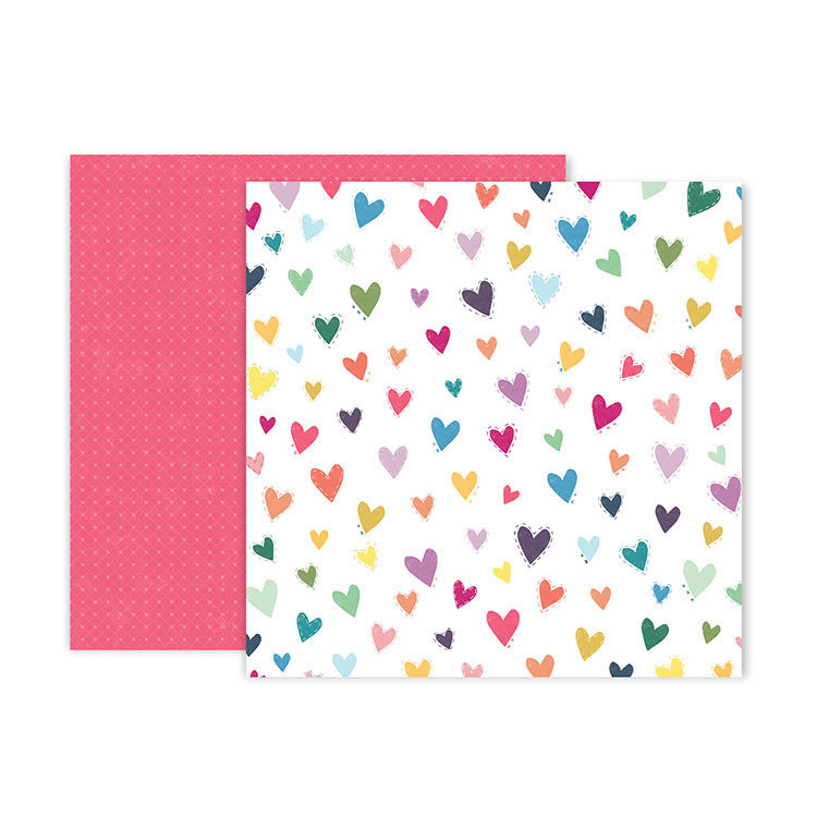 "Papel Doble Cara 12""x12"" - #11 Whimsical"