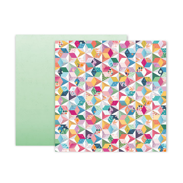 """Papel Doble Cara 12""""x12"""" - #12 Whimsical"""