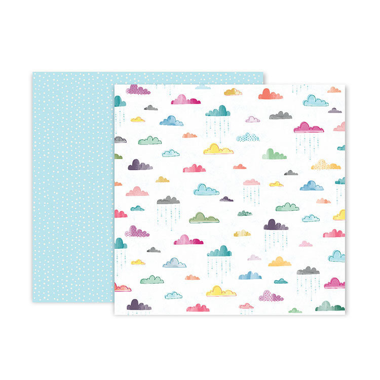 """Papel Doble Cara 12""""x12"""" - #15 Whimsical"""