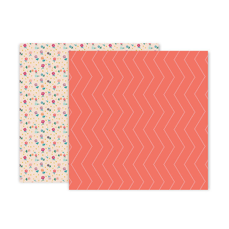 "Papel Doble Cara 12""x12"" - #22 Whimsical"