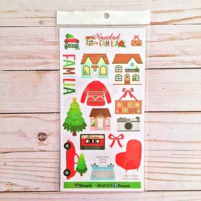 Stickers - Navidad en Familia
