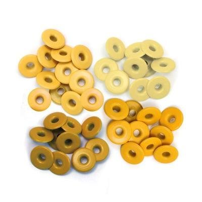 Wide Eyelets - Yellow