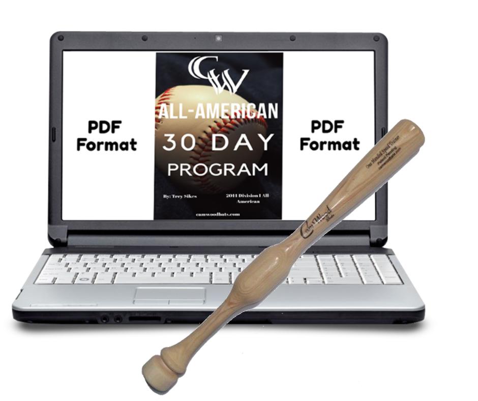All-American 30 Day Program + Softball One Hand Trainer