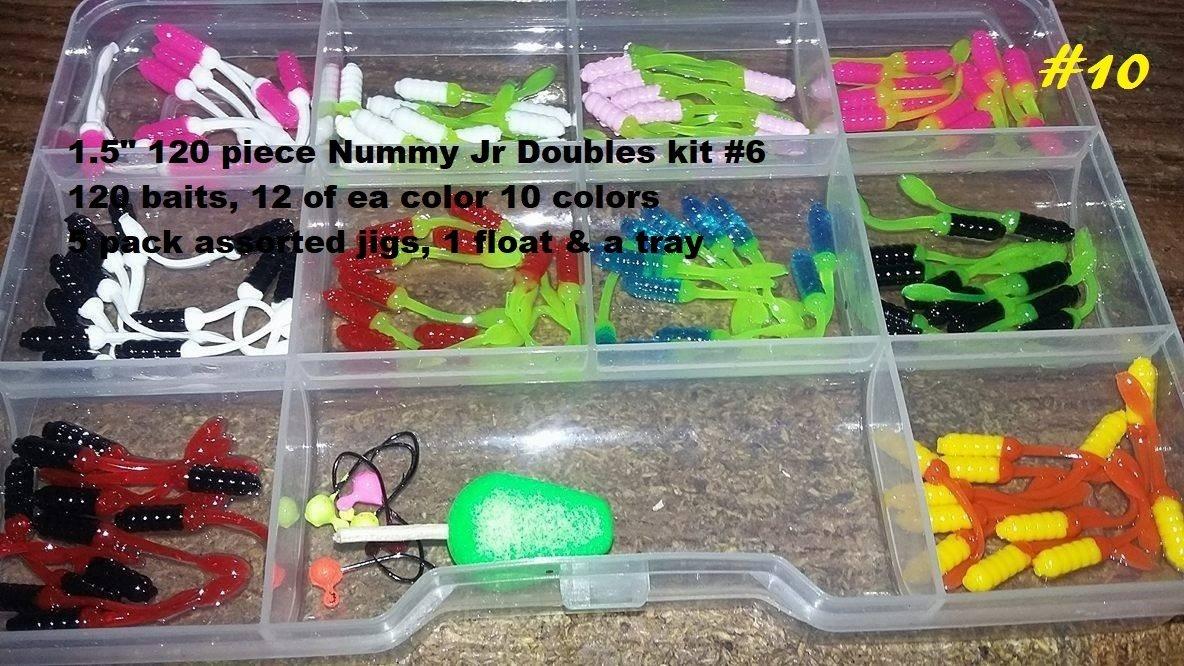 "120 piece 1.5"" tiny nummies Doubles kit"