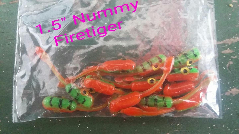 """1.5"""" Nummies Firetiger per 12 pack"""
