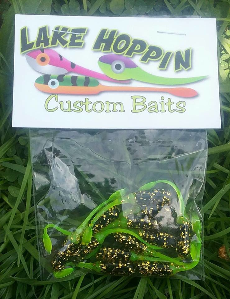 "2"" nummies Black & Chartruse & Gold Dipped 12 per pk"