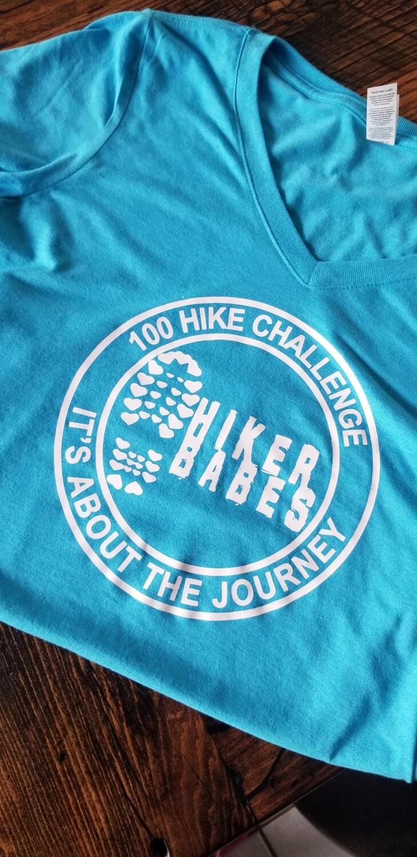 100 HIKE CHALLENGER Ladies TEE