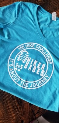 100 HIKE CHALLENGER Ladies TEE
