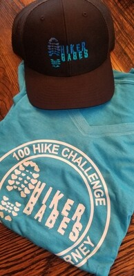 Hikerbabes ladies Tee & hat