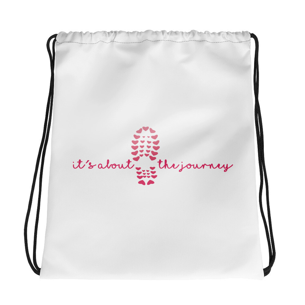 Journey Drawstring bag