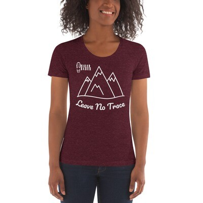 Women's Crew Neck Leave No Trace T-shirt