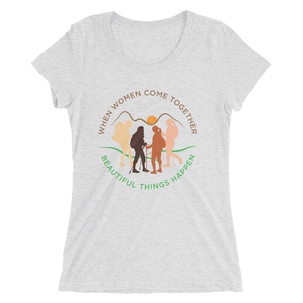 Women come together Ladies' short sleeve t-shirt