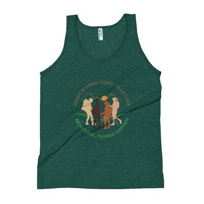 Women come together Unisex Tank Top