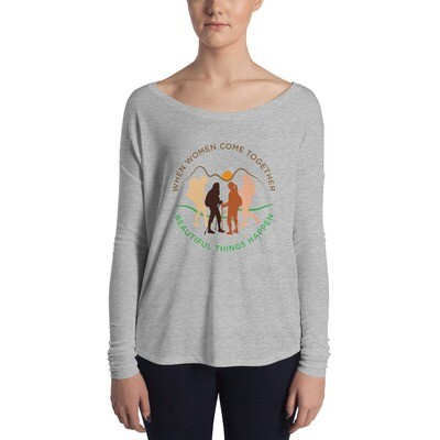 Women come together Ladies' Long Sleeve Tee