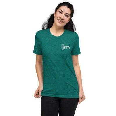 Embroidered Hikerbabes Unisex Short sleeve t-shirt