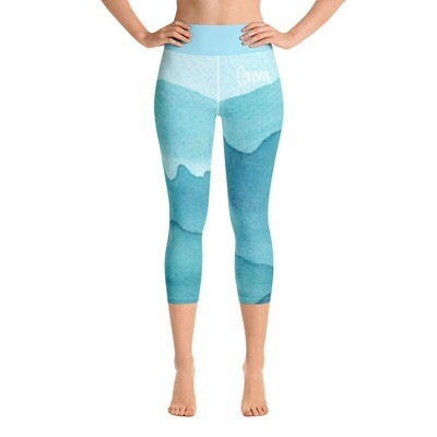 Hikerbabes Mountain Yoga Capri Leggings