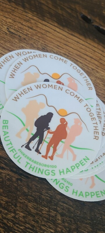 Women Come Together Stickers