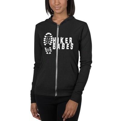 USA/Europe Hikerbabes Unisex zip hoodie