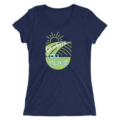 Alive Hikerbabes Ladies' short sleeve t-shirt