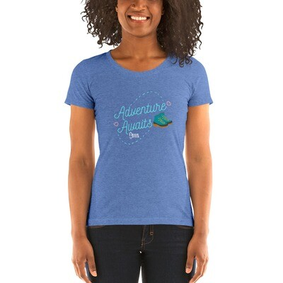 Adventure Awaits Hikerbabes Ladies' short sleeve t-shirt